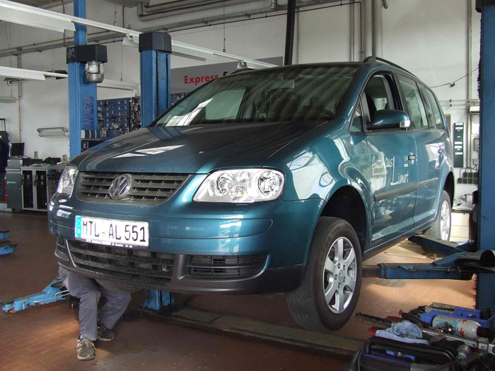 Автомобиль из Германии фото.
