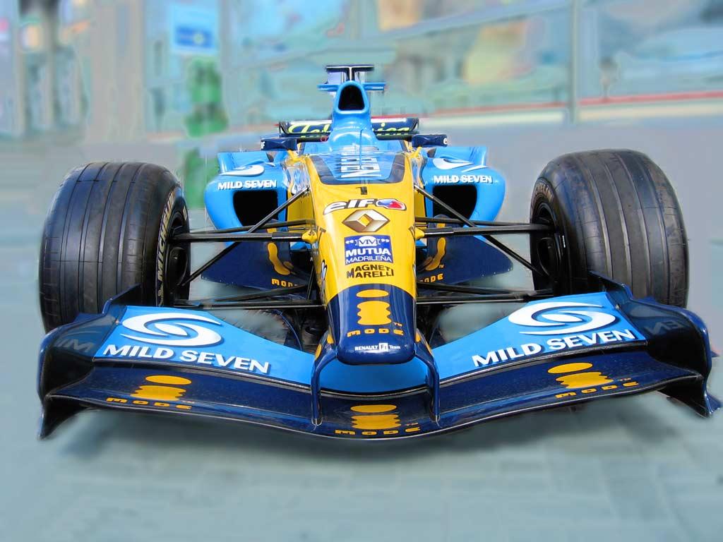Болид Формулы-1.  Формула-1.