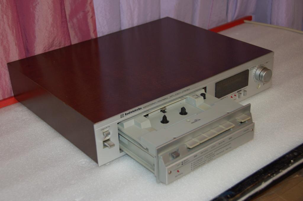 фото. Магнитофон Radiotehnika МП-7301 С