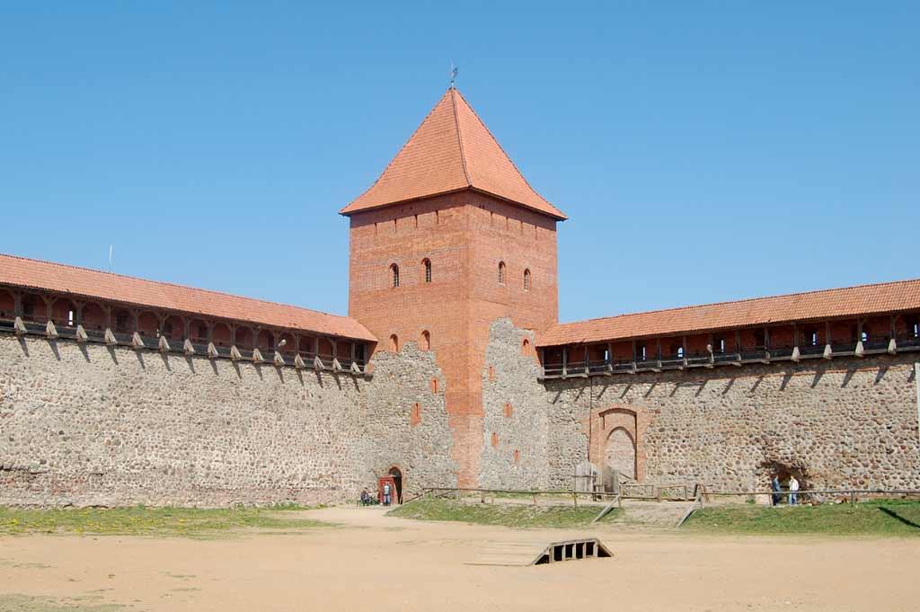 Лидского замока исторические места