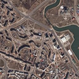 Минска минск вид на город из космоса