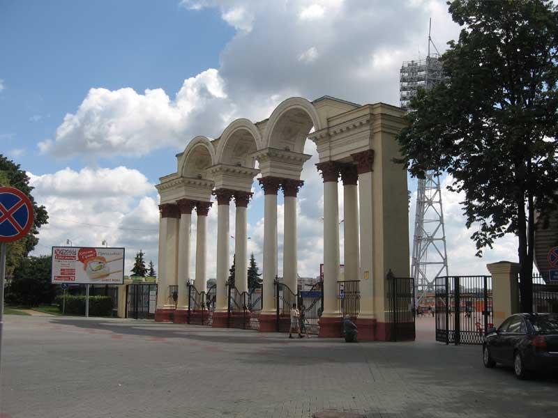 Стадион динамо в минске. улица кирова