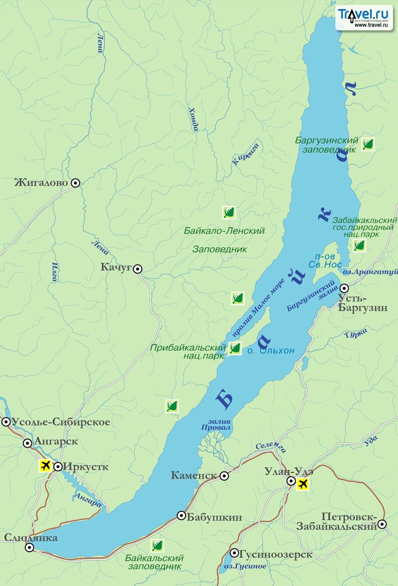 фото озеро байкал на карте