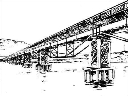 на берегу Керченского пролива обнаружили большие запасы металлоконструкций и оборудования фото