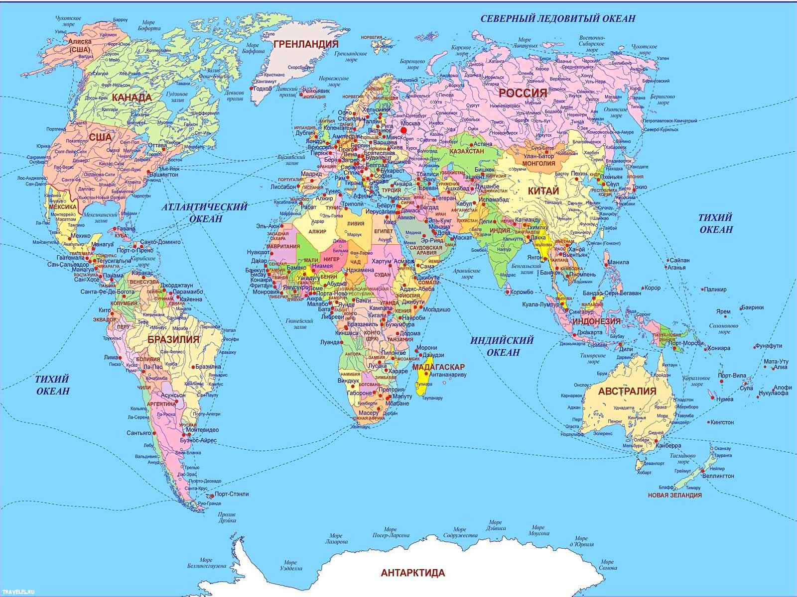 Карта планеты земля карта мира