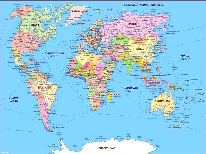 Карты стран мира атлас стран мира