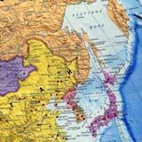 Фото. Карта Японии