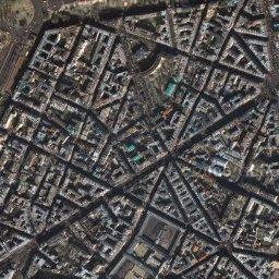 Фото парижа из космоса париж франция