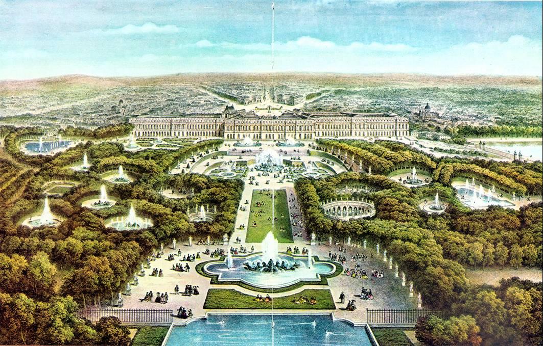 Картинки по запросу версаль панорама