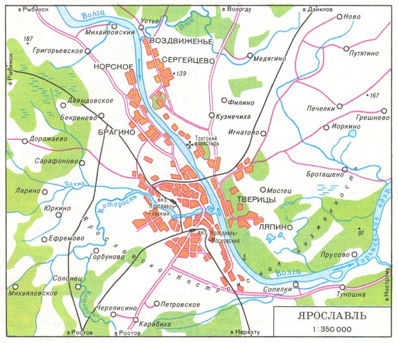 Река которосль река волга в ярославле