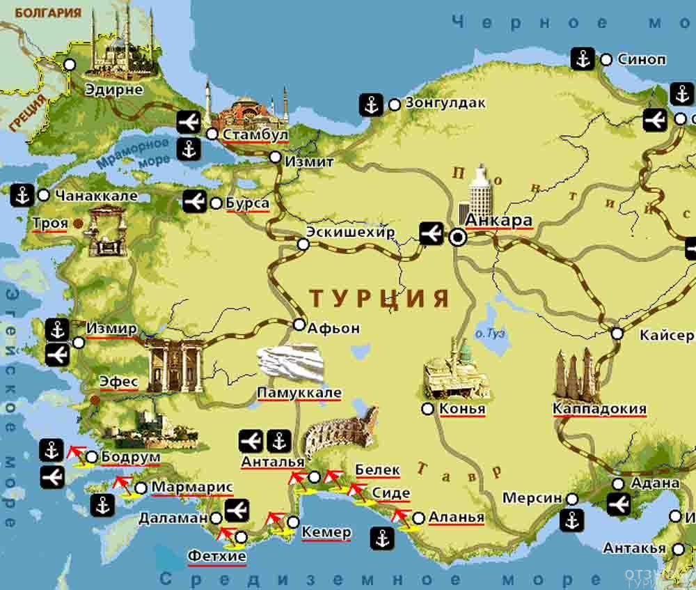 карта порту с достопримечательностями на русском языке скачать - фото 10