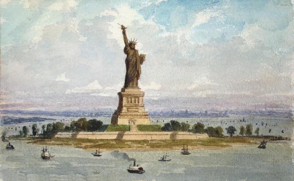 фото статуи англии