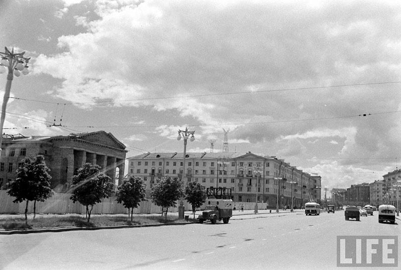 Улицы минска 60 х годов фото отсюда