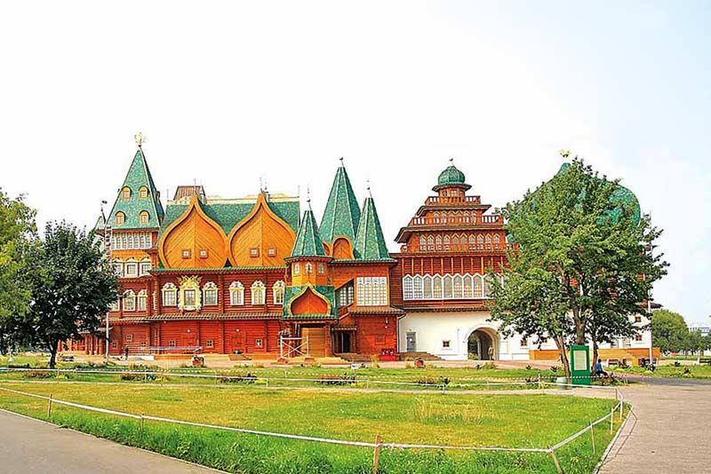 Фото. Дворец царя Алексея Михайловича