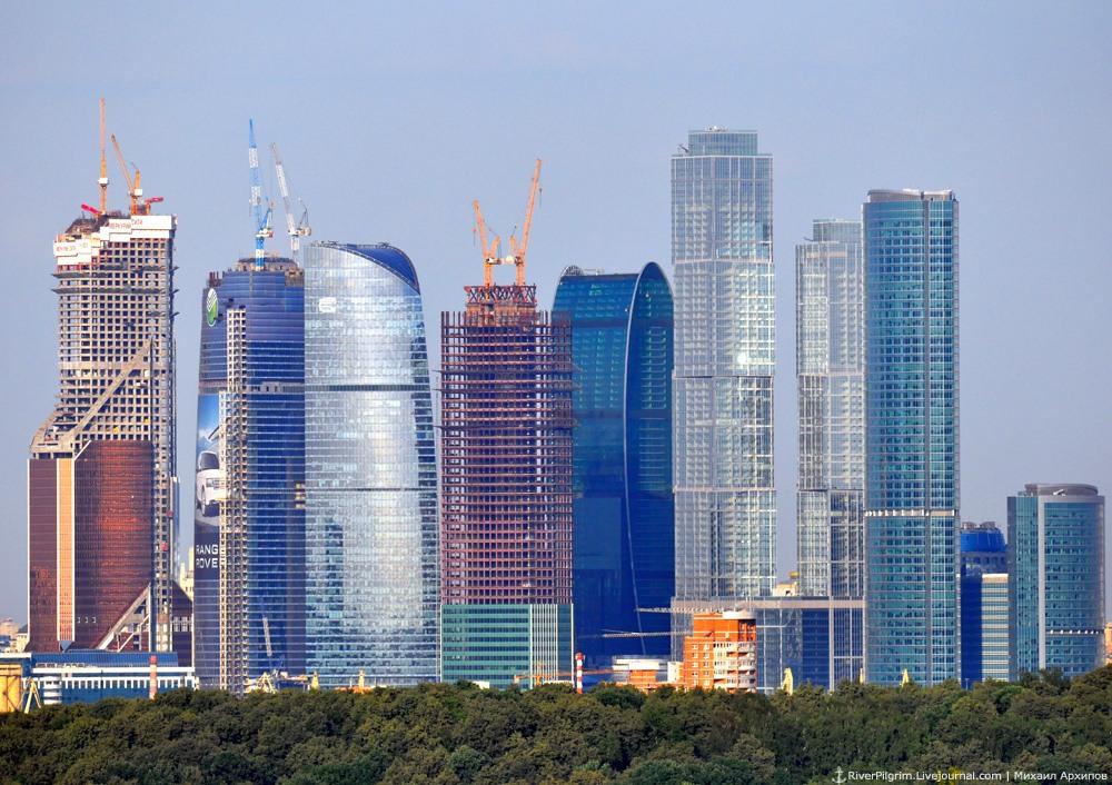 Башня Федерация. Башня Москва.