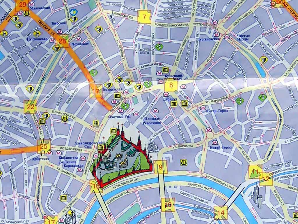 Карта москвы схема улиц фото 929