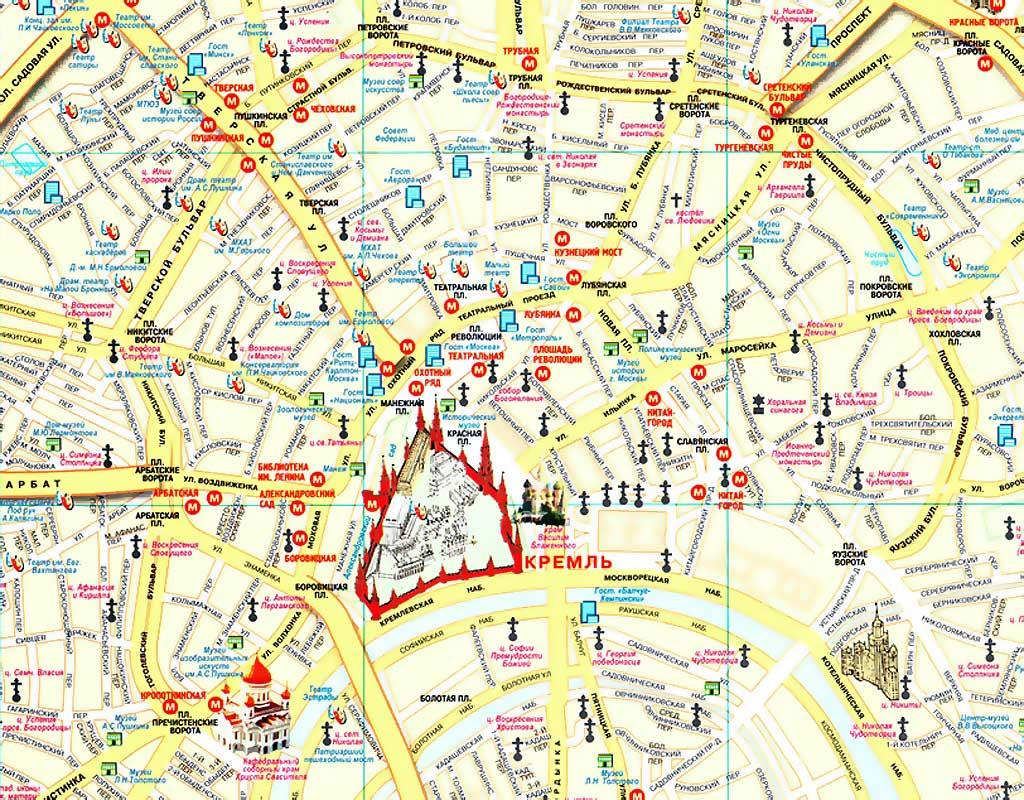 Карта москвы схема улиц фото 922