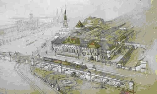 Казанский вокзал - проект