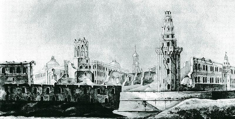 Кремль после Наполеона.