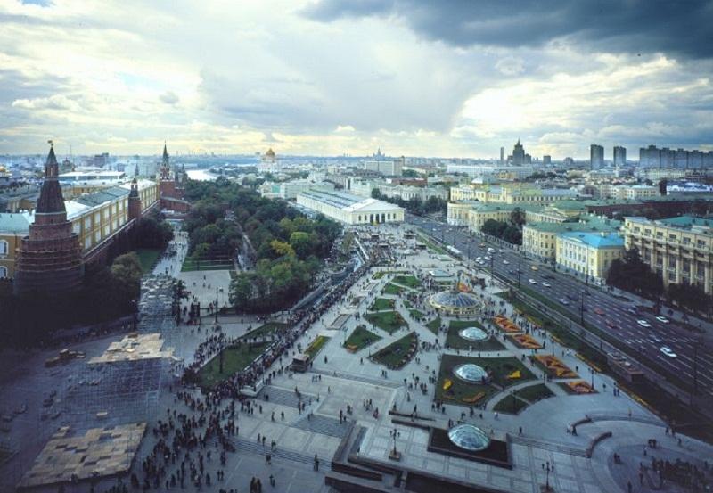 Москва. Охотный ряд