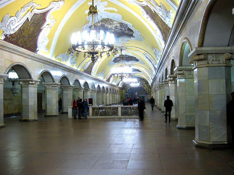 Актуальная схема Москвы