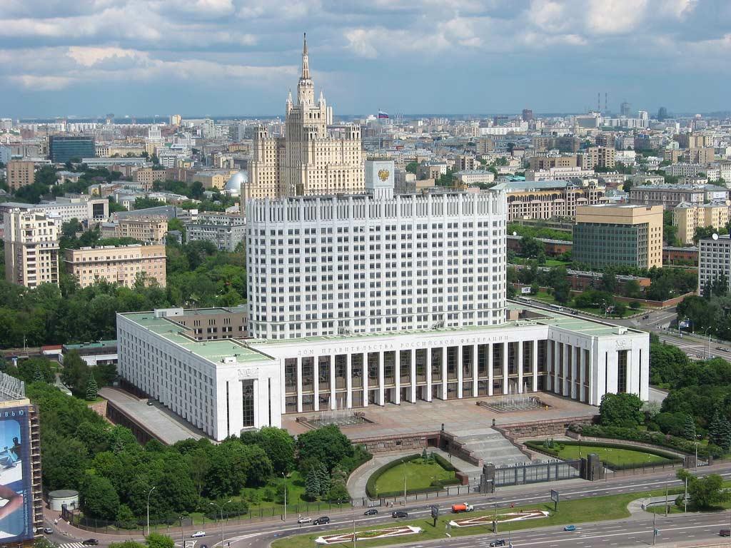 Дом правительства России   фото