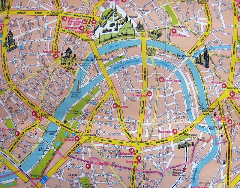 Схема маршрут метро новокосино