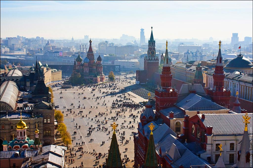 Москва. План-схема Красной