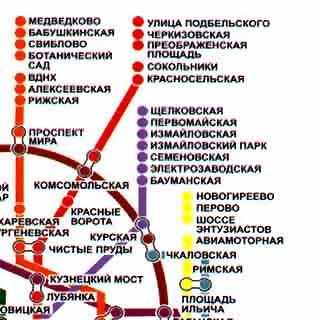 Старинная топографическая карта метро проспект мира сервисный центр Санг-Йонг