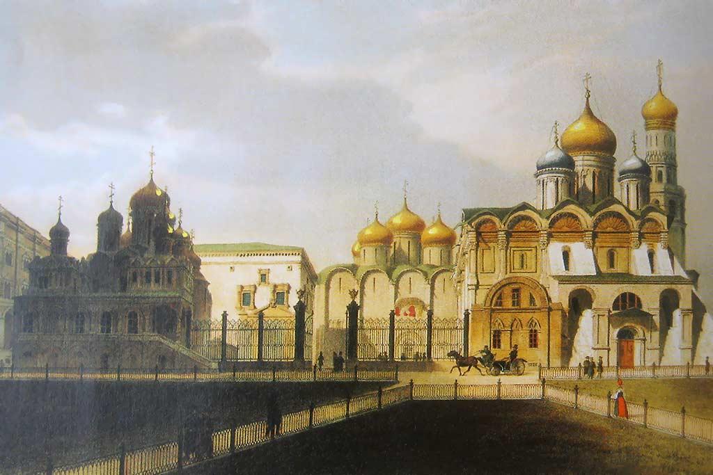 Древняя Москва. Собор Василия