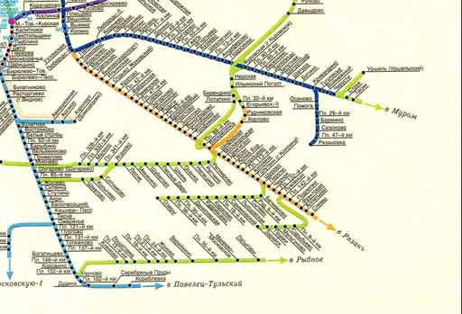 железнодорожного сообщения