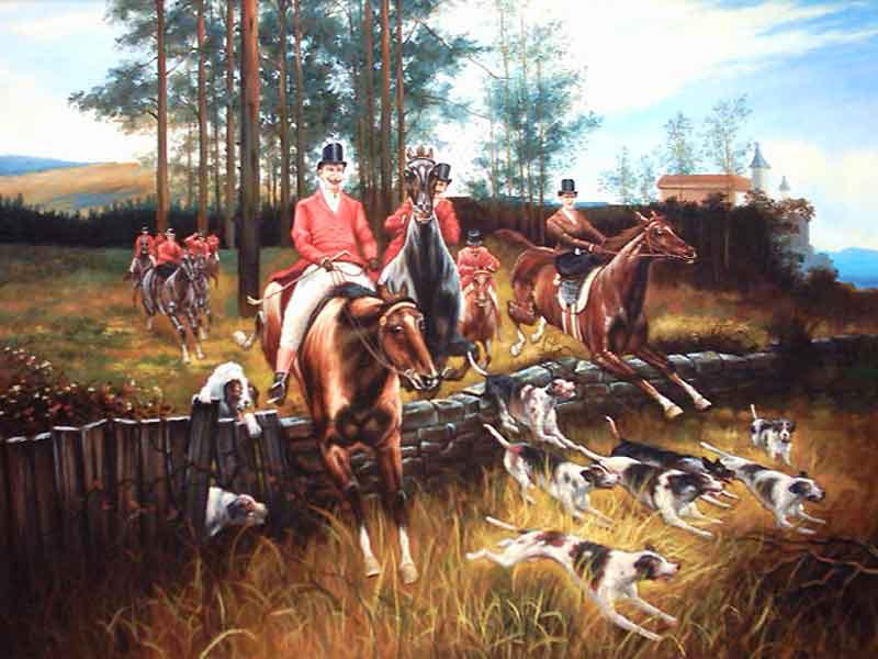 Царская охота в беловежской пуще