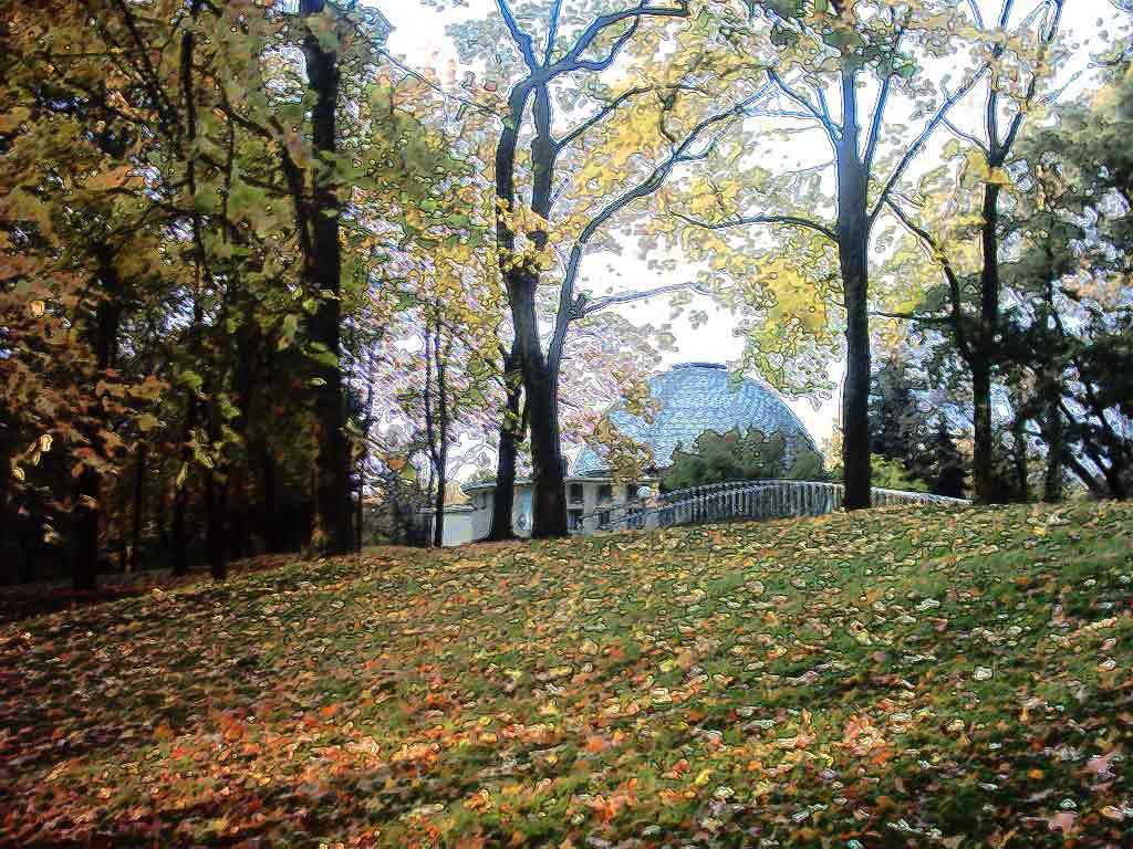 Осень фото осень в парке обои для