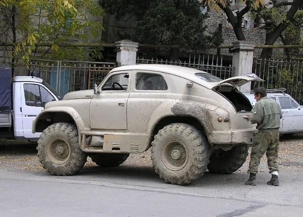Самодельный автомобиль >>>