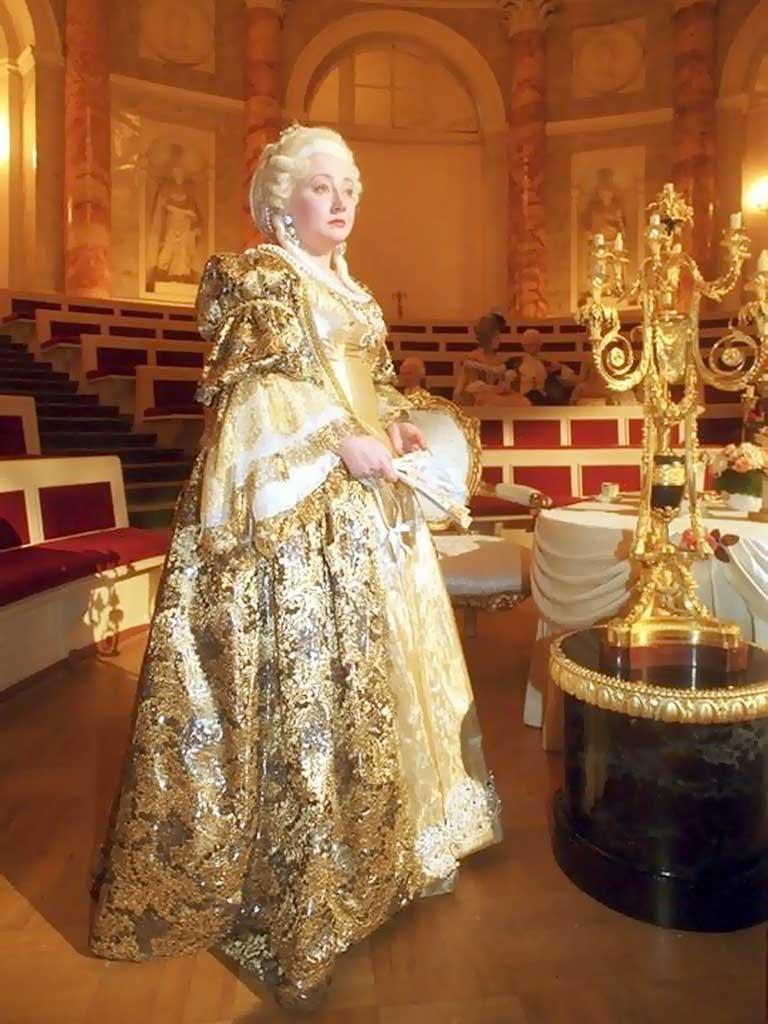 Портрет екатерины второй императрица