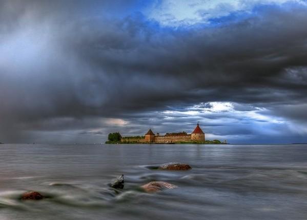Домик Петра в Санкт-Петербурге. Домик Петра-1. Фото. Картинка