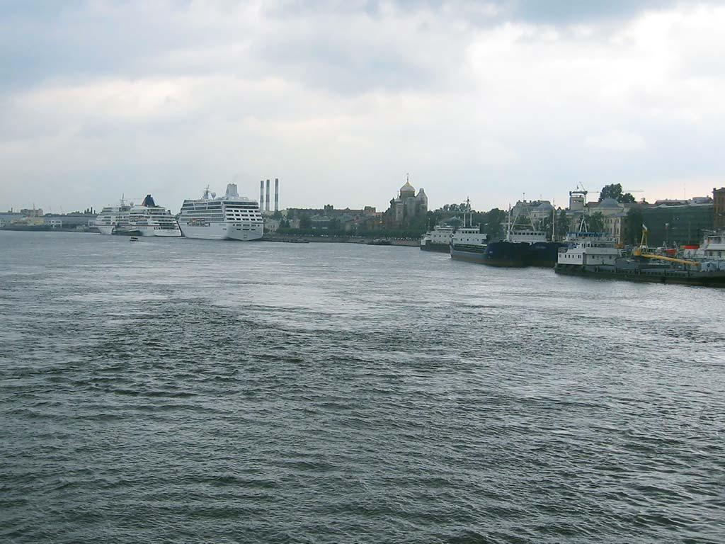 Морской порт Круизные лайнеры Фото Санкт Петербурга Обои  Санкт Петербург Морской порт Круизные лайнеры Виды Санкт Петербурга Фотографии