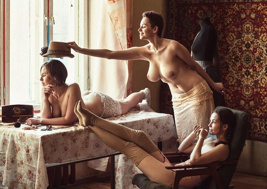 Эро Ретро Фото Женщин В Полный Рост
