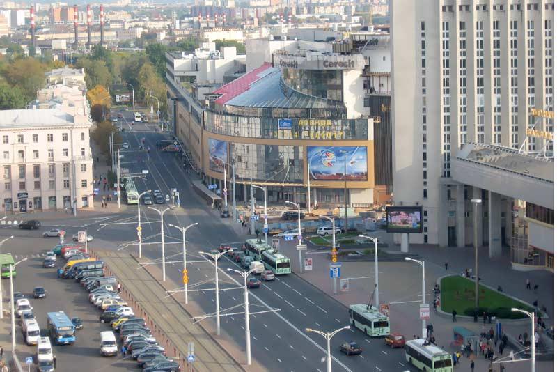 Привокзальная площадь. Автовокзал Центральный. Картинка