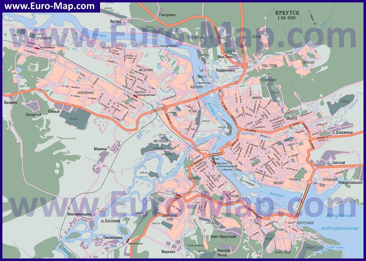 интим карта города иркутска-цо1