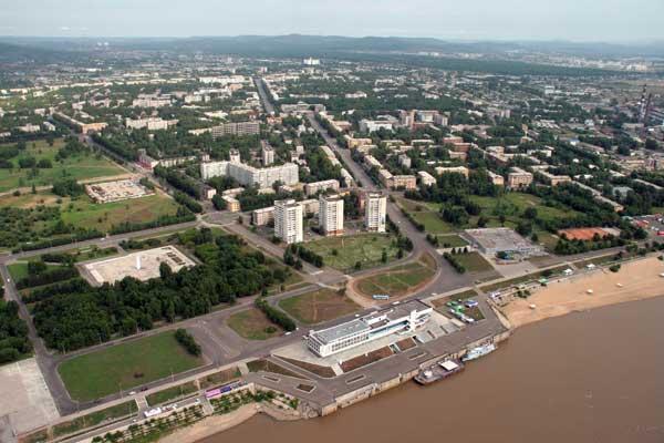 Комсомольск-на-Амуре фото города с вераталёта 1.
