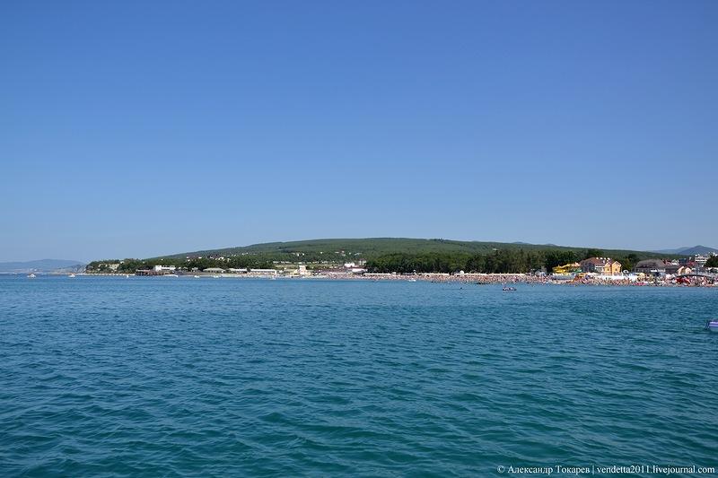 дивноморское фото поселка и пляжа карта