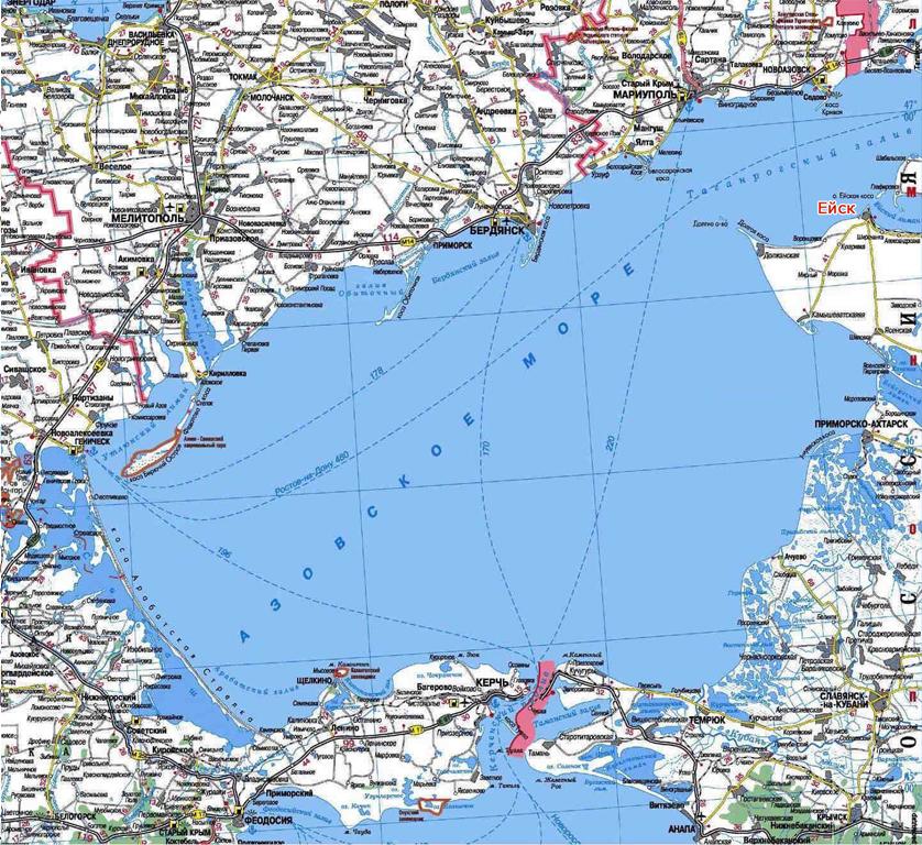 Побережье азовского моря в россии