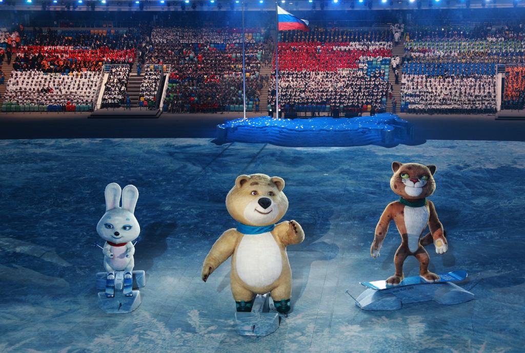 Олимпийский Мишка  Википедия