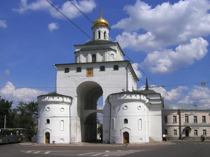 Золотые ворота фотография владимира