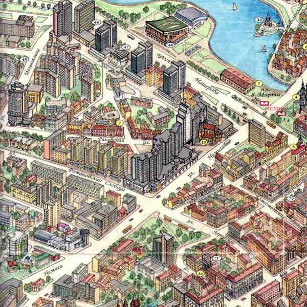 Обои города, дороги, улица, раздел очница, размер